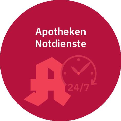 MediosApotheke Apotheken Notdienste Button