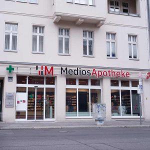 Medios Apotheke Berlin Standort Charite